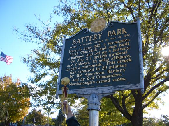 Batteryparksign